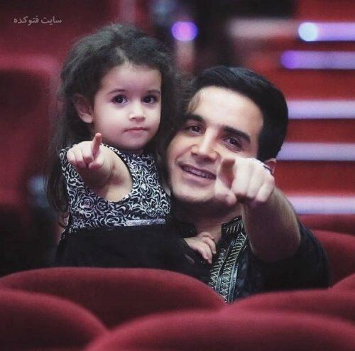 عکس محسن یگانه و دخترش نگاه + زندگی شخصی