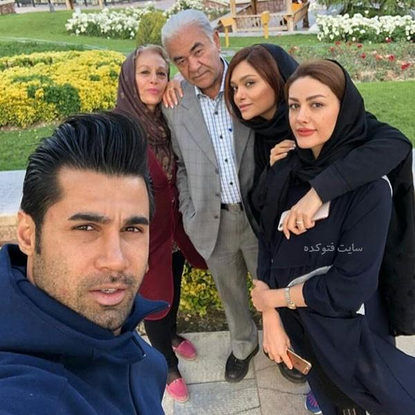 همسر محسن فروزان و عکس خانواده همسرش در تبریز