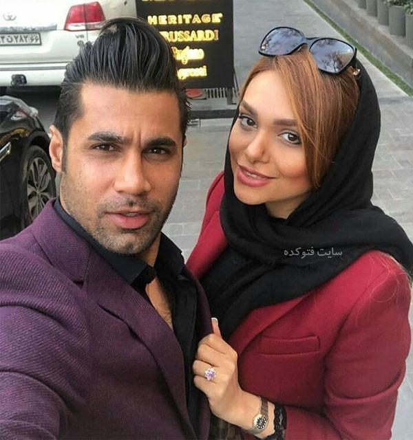 عکس های محسن فروزان و همسرش نسیم نهالی