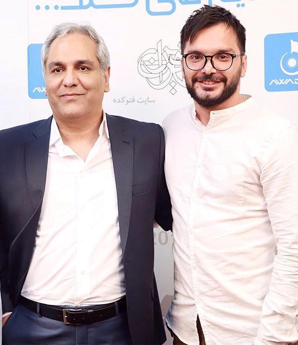 محسن ایزی و مهران مدیری + بیوگرافی کامل