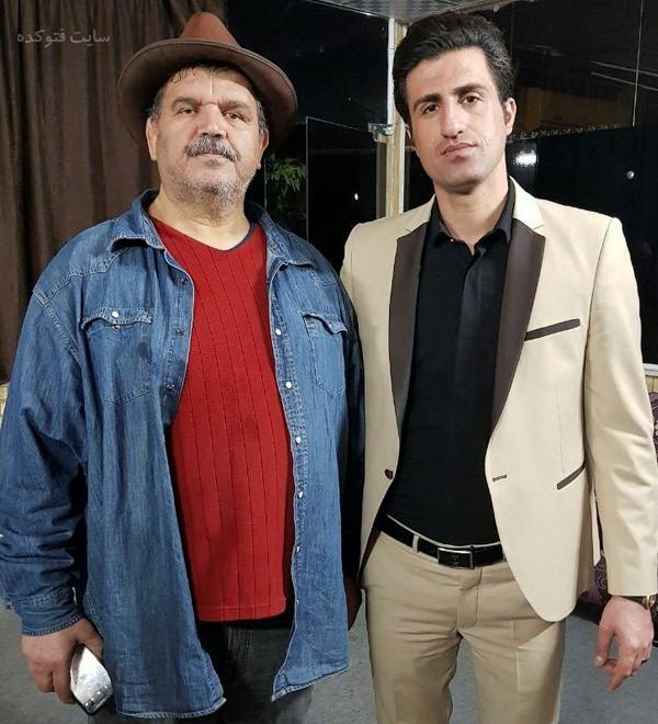 عکس محسن لرستانی و بازیگر تلویزیون