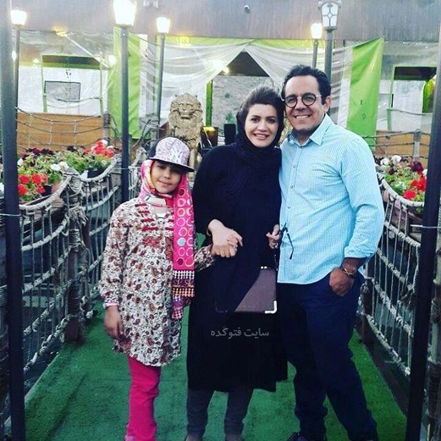 عکس محسن میرزازاده و همسرش
