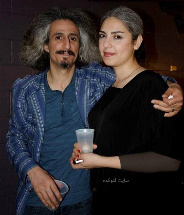 عکس محسن نامجو و همسرش بهار سبزواری + بیوگرافی