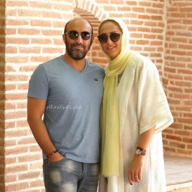 عکس و بیوگرافی محسن تنابنده و همسرش