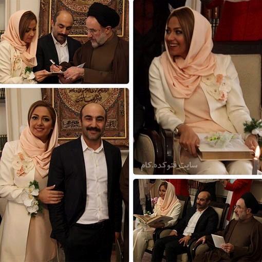 مراسم ازدواج محسن تنابنده و سید محمد خاتمی