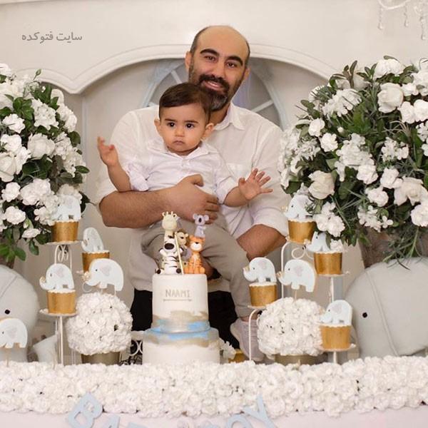 عکس های محسن تنابنده و پسرش نامی