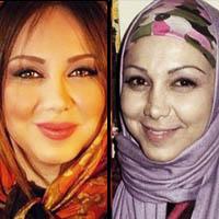 معجزه آرایش در بازیگران زن ایرانی