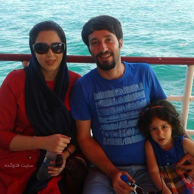 بیوگرافی مجتبی عابدینی و همسرش