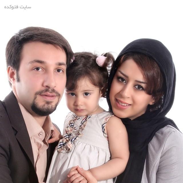عکس مجتبی عابدینی و همسرش + بیوگرافی