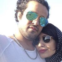 عکس و بیوگرافی مجتبی پیرزاده و همسرش فرزانه تفرشی