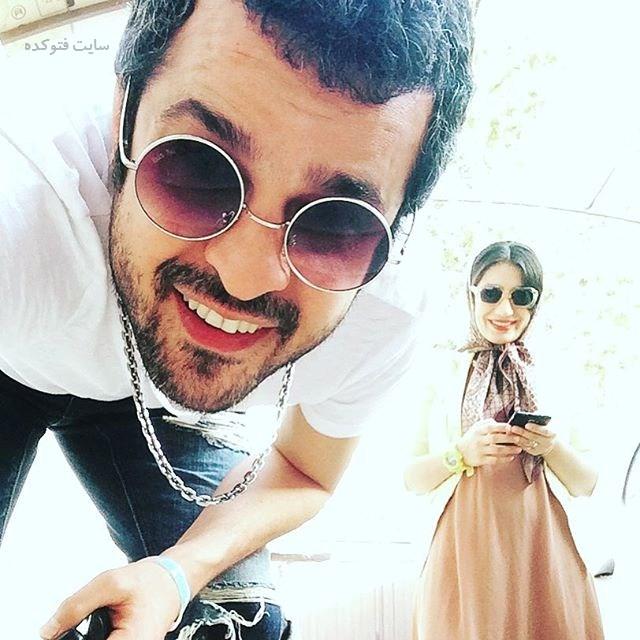 عکس مجتبی پیرزاده و همسرش + زندگینامه شخصی
