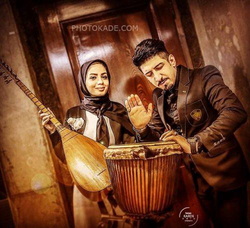 عکس احمدرضا موسوی و مبینا نصیری + بیوگرافی کامل