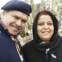 بیوگرافی مختار سائقی و همسرش