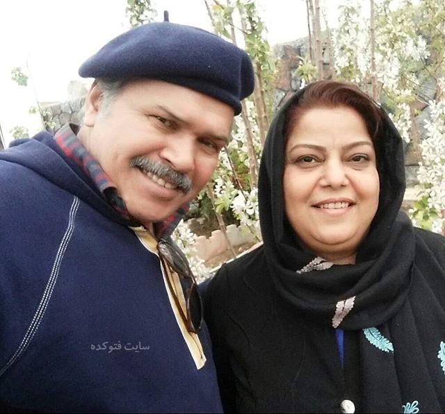 عکس مختار سائقی و همسرش + بیوگرافی کامل