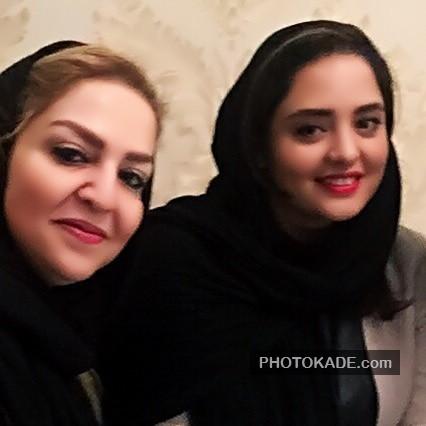 عکس نرگس محمدی و مادر