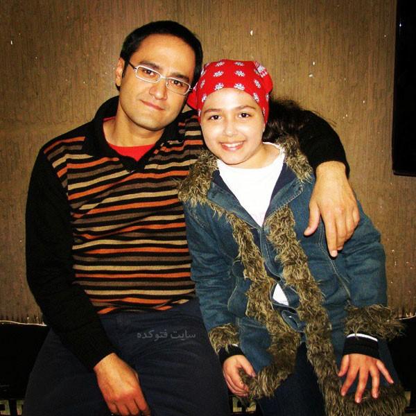 Mona Eskandari و رامبد جوان در سریال مسافران