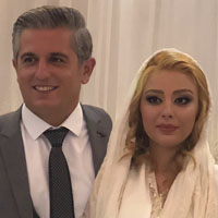 مونا غمخوار و همسرش + زندگی شخصی هنری
