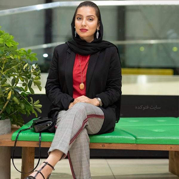 مونا کرمی بازیگر سریال حوالی پاییز + بیوگرافی کامل