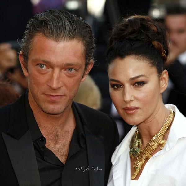 بیوگرافی مونیکا بلوچی و همسرش