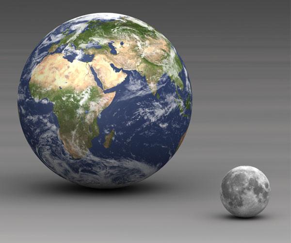 در کره ماه چه میگذرد