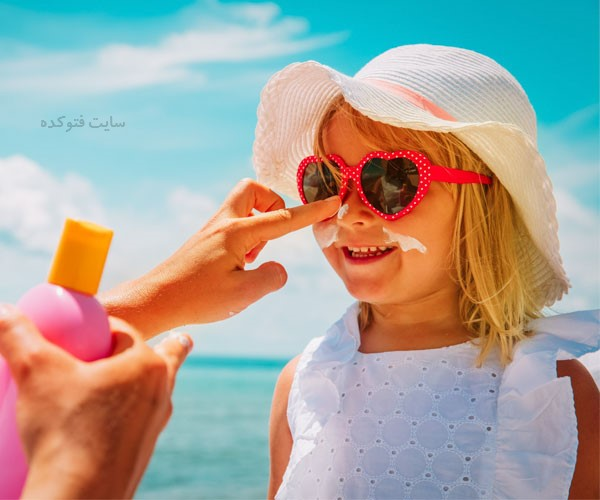 برنامه محافظت از پوست دست و صورت زنان و مردان و کودکان