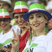عکس تماشاگران بازی ایران و مراکش در جام جهانی 2018