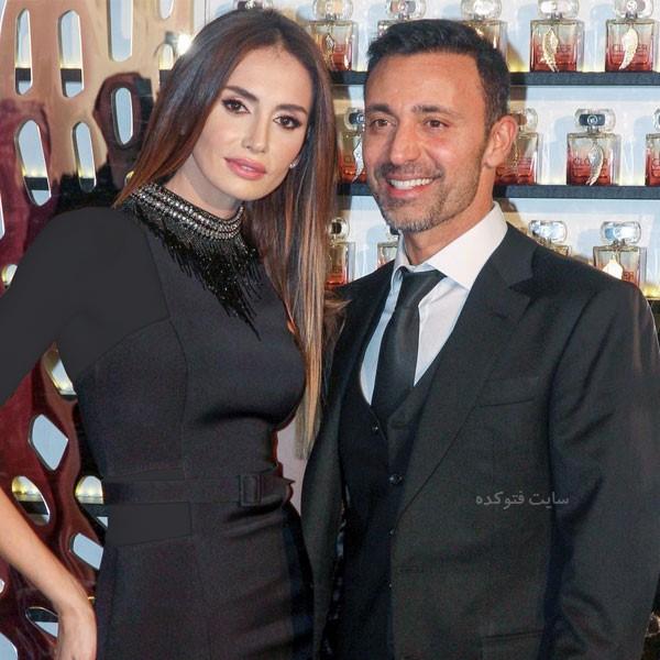 عکس مصطفی صندل و همسرش + بیوگرافی کامل و علت طلاق