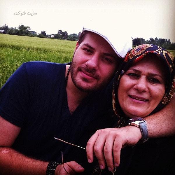 مصطفی قدیری و مادرش + بیوگرافی کامل