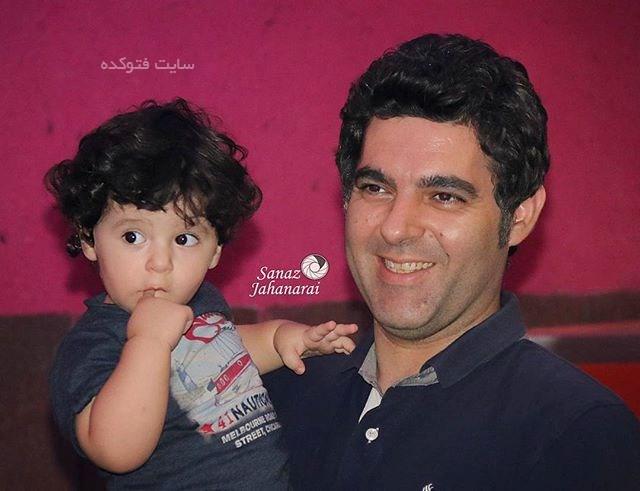 عکس مصطفی کیایی و پسرش کارن کیایی