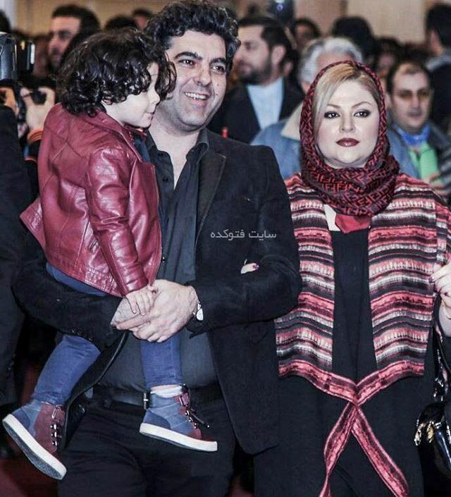 عکس مصطفی کیایی و همسرش عاطفه فلاحی