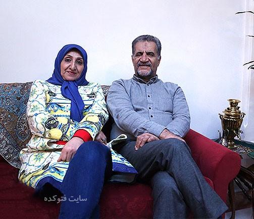 عکس همسر مصطفی رحماندوست + زندگینامه