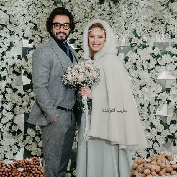 عکس نگین معتضدی و همسرش (دوم) امین امانی کیست