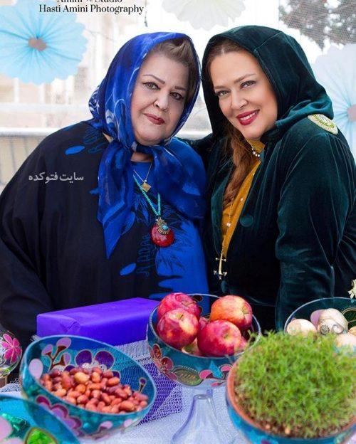 عکس بهاره رهنما و مادرش