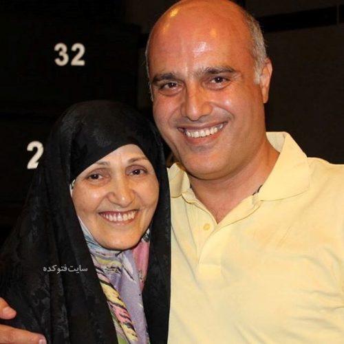 عکس سعید داخ و مادرش