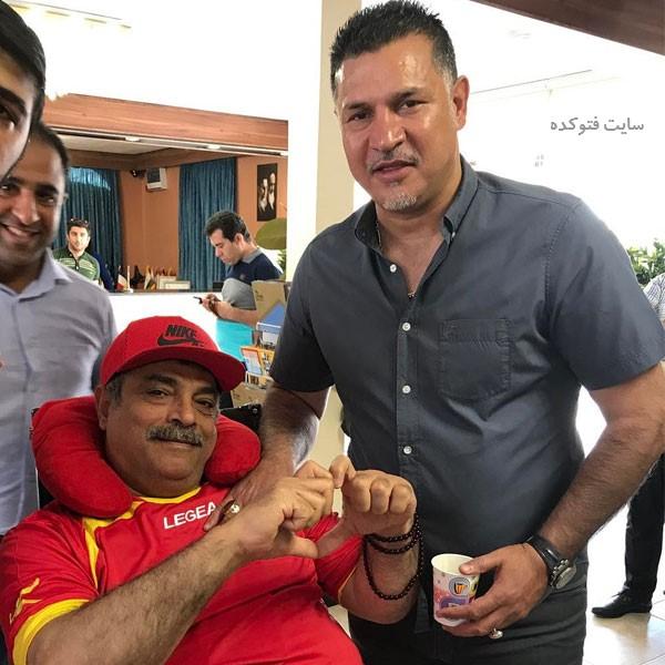 عمو موسی پرسپولیسی و علی دایی + بیوگرافی