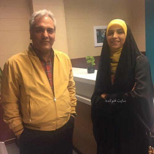 عکس مژده لواسانی و مهران مدیری + زندگینامه
