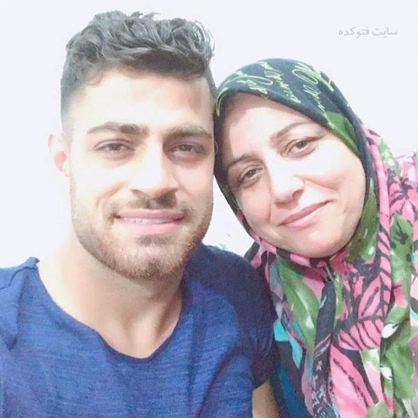 عکس های مرتضی پورعلی گنجی و مادرش