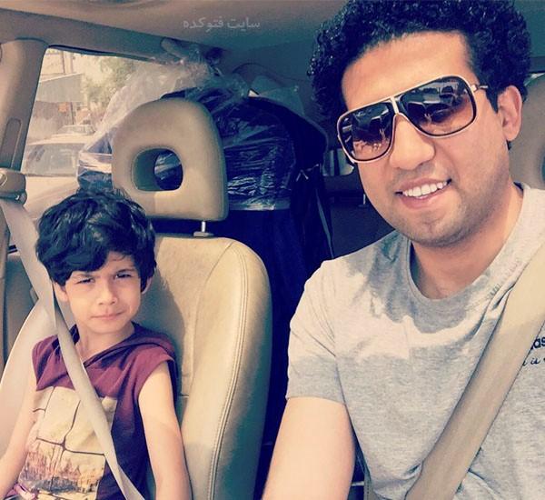 مجتبی پوربخش مجری و پسرش + بیوگرافی