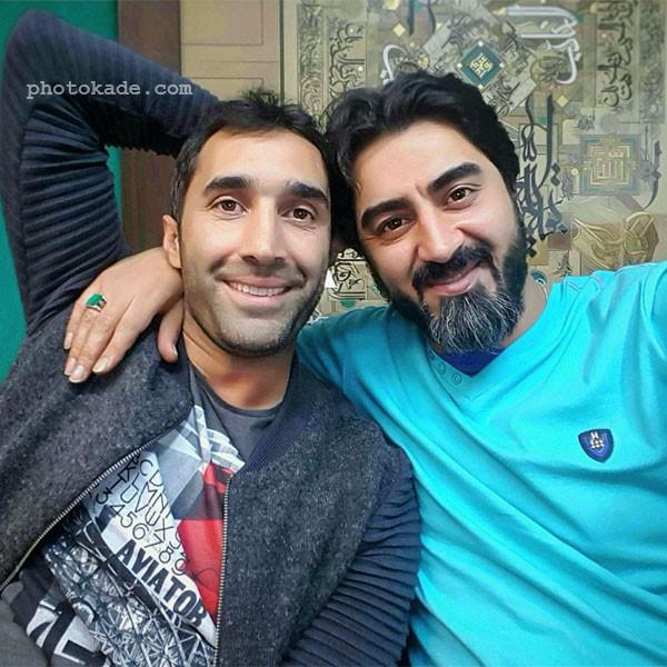 عکس محمدرضا علیمردانی و دوست صمیمی اش هادی کاظمی