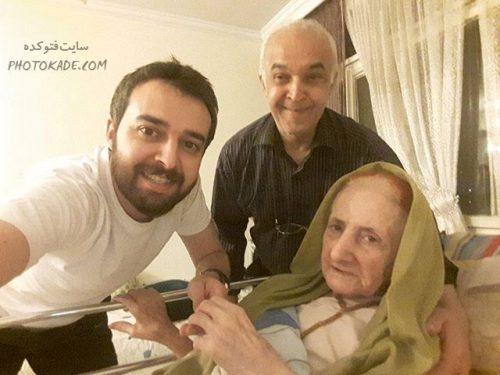 عکس پدر و مادر محمودرضا قدیریان