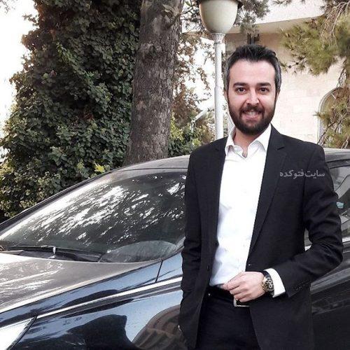 عکس محمودرضا قدیریان و ماشین گرانقیمت اش