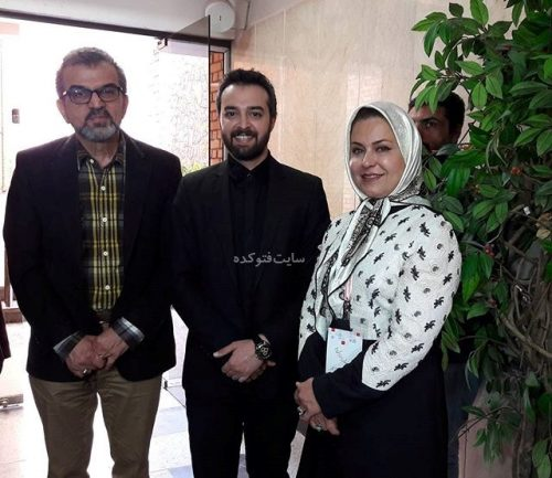 عکس محمودرضا قدیریان در کنار مجریان مشهور کشور