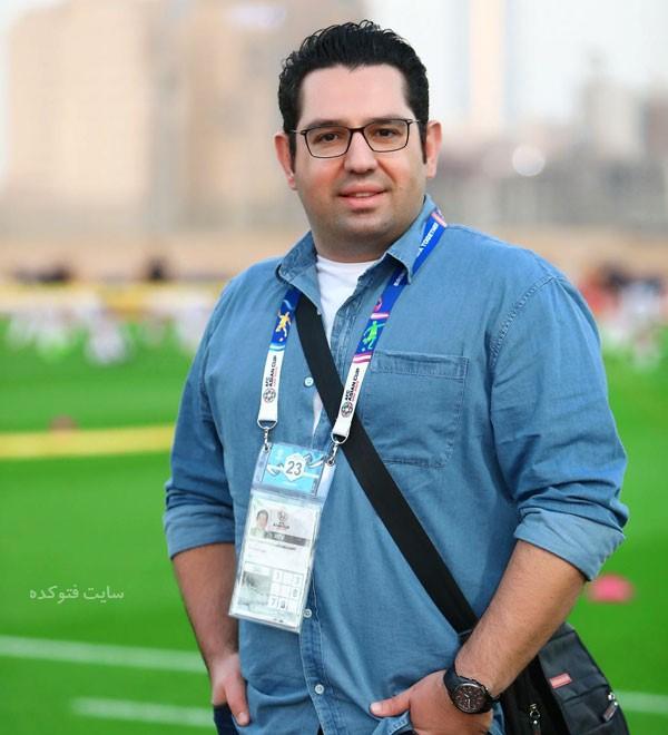 بیوگرافی محمدرضا احمدی گزارشگر فوتبال