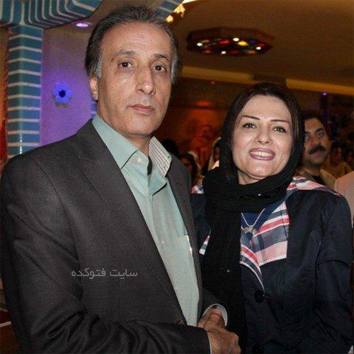 محمدرضا حیاتی و همسرش