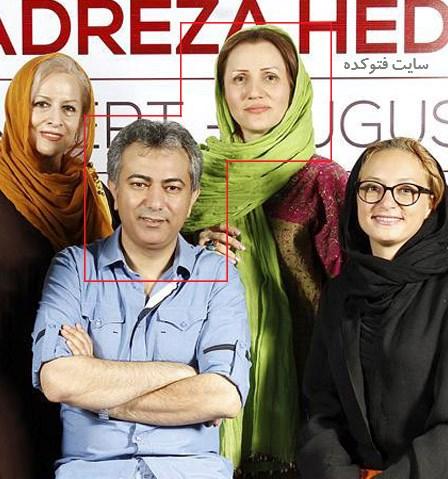 عکس محمدرضا هدایتی و همسرش + بیوگرافی کامل