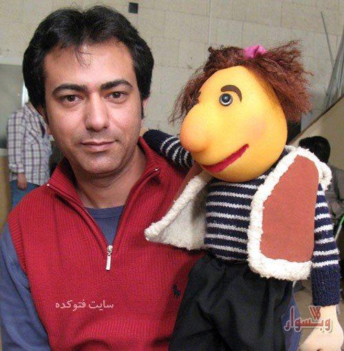 عکس محمدرضا هدایتی صداپیشه پسرعمه زا + زندگینامه کامل