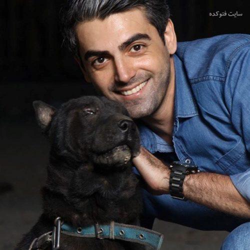 عکس محمدرضا رهبری و سگش + زندگی شخصی