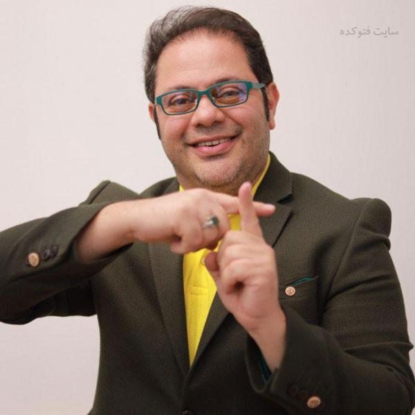 بیوگرافی محمدرضا حسینیان مجری تلویزیون و مدیرعامل تی وی پلاس