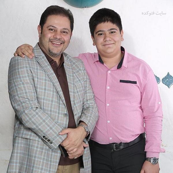 سید محمدرضا حسینیان و پسرش شایان + بیوگرافی