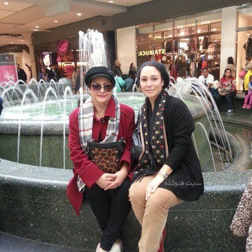 عکس مریم امیرجلالی و دخترش در خارج از کشور + بیوگرافی